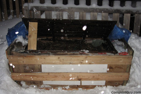 Winter Compost Bin