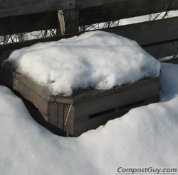 Buried Backyard Composter
