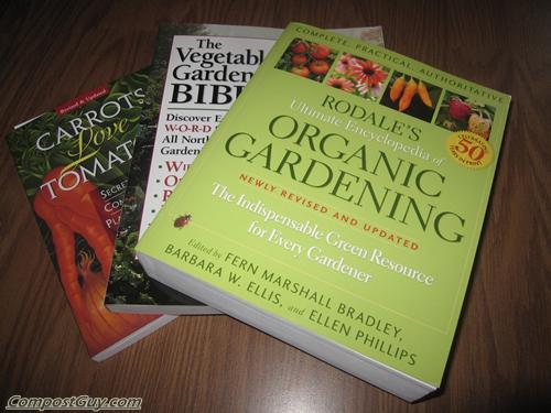 Organic Gardening Books