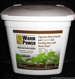 Worm Power Organic Worm Castings